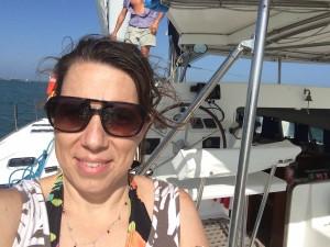 I'm on a sailboat!